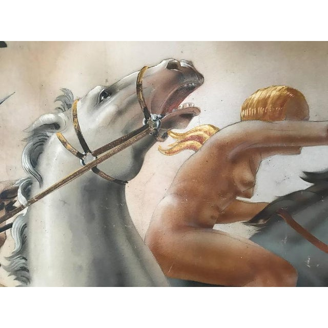 Large Art Deco Mural of Diana the Huntress For Sale In Philadelphia - Image 6 of 8