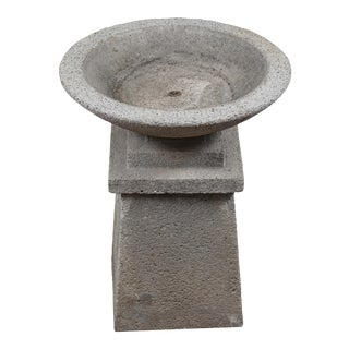 American Cast Concrete Garden Planter For Sale