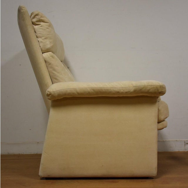 Rolf Benz for Cy Mann Recliner & Ottoman - Image 4 of 11