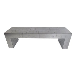 Paul Evans Cityscape Chrome Wall Console For Sale