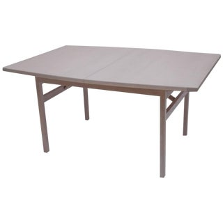Jens Risom Bleached Walnut Dining Table For Sale