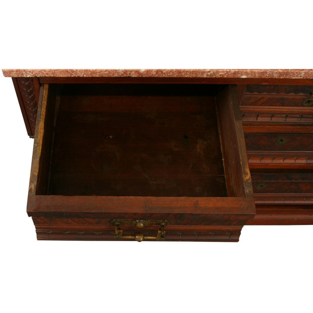 Antique Eastlake Vanity Table - Image 8 of 8