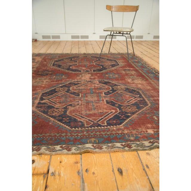 "Vintage Caucasian Carpet - 5'8"" X 7'6"" - Image 4 of 9"