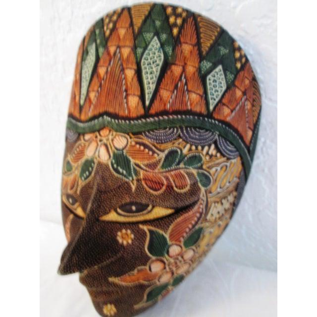 Ornate Decorative Hanging Masks - S/3 - Image 7 of 9