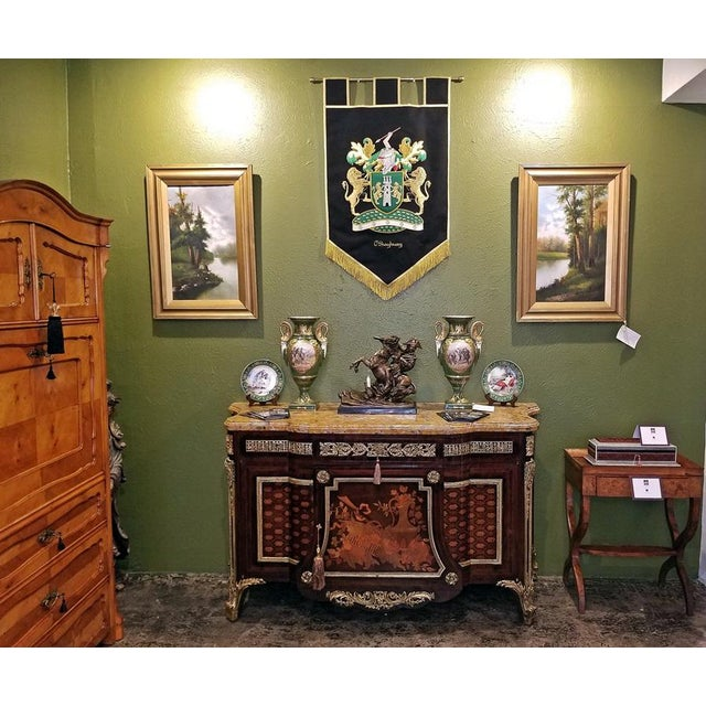 19th Century Louis XVI Commode After Reisener For Sale - Image 10 of 13