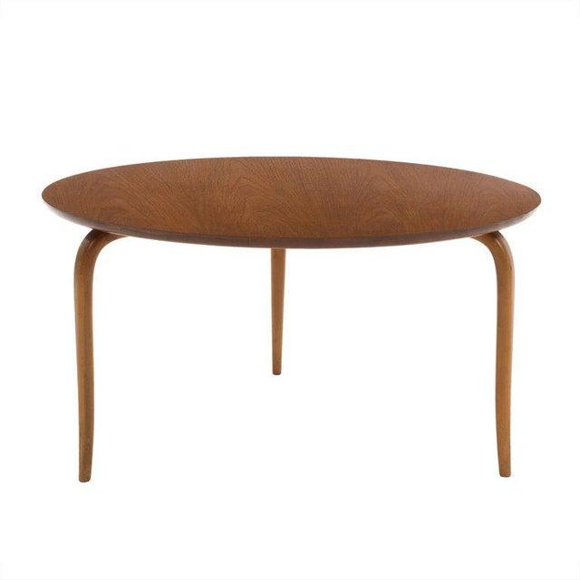 Teak Bruno Mathsson Side Table For Sale - Image 7 of 7
