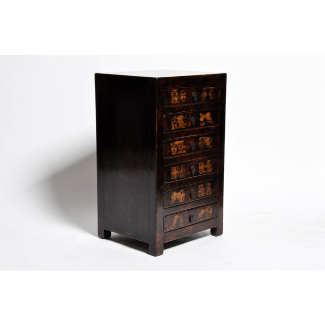 Asian Chinese Side Chests - a Pair For Sale - Image 3 of 13