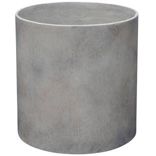 Mid-Century Modern Style Cast Composite Stone Planter For Sale