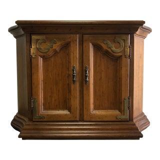 DREXEL HERITAGE Velero Southwestern Style Console Entry Cabinet