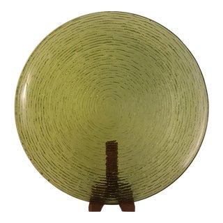 Anchor Hocking Glass Soreno Avocado Platter