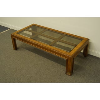 "Campaign Drexel Heritage Accolade Collection Style 60"" Coffee Table Preview"