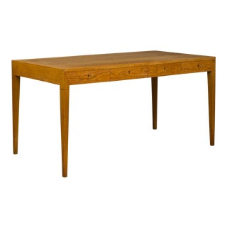 Mid-Century Modern Severin Hansen Oak Writing Desk For Sale