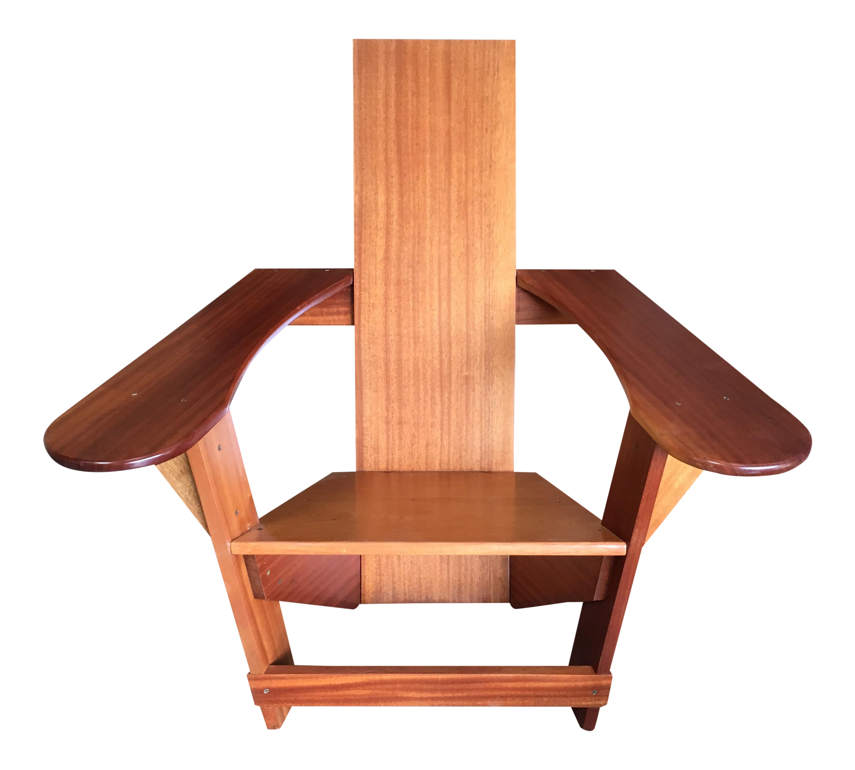 Adirondack Studio Crafted Solid Mahogany Chair