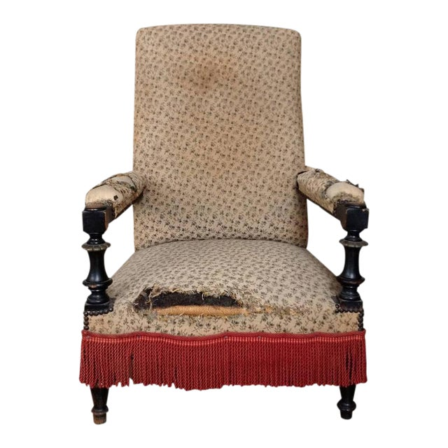 French 19th Century Armchair - Image 1 of 10