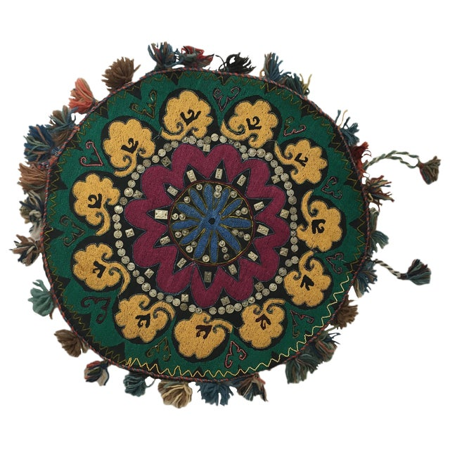 Ethnic Wall Medallion Tapestry - Image 1 of 8