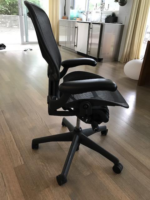 Herman Miller Aeron Desk Chair Chairish