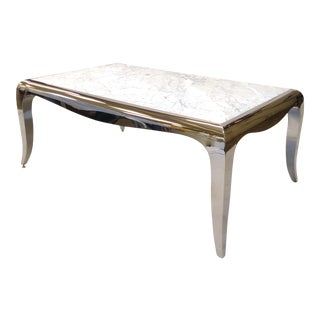 Caracole Petite Rectangular Cocktail Table For Sale