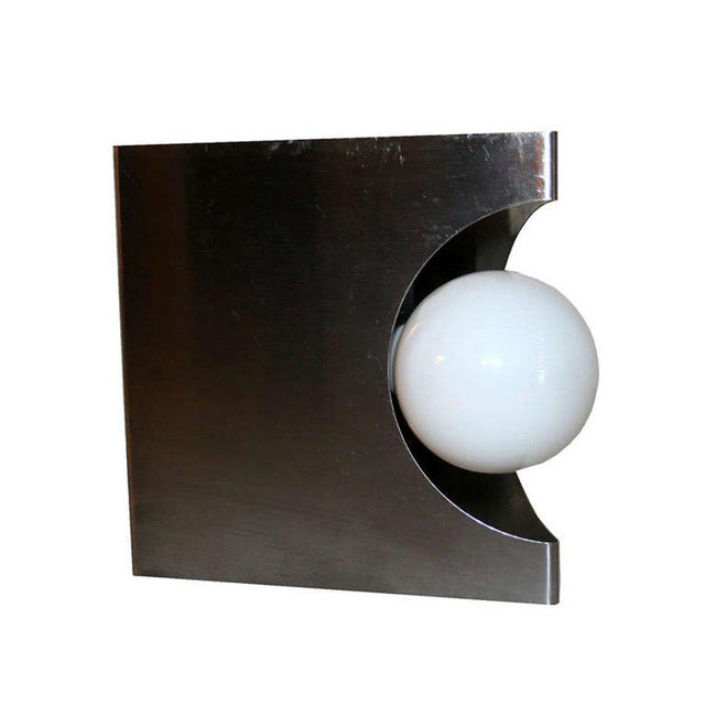 Modernist Pair of European Wall Sconces - Image 6 of 6