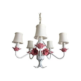 1960s Floral Chandelier Preview