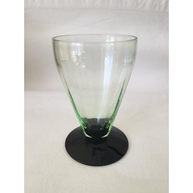 Emerald Green Cocktail Glasses - Set of 6 - Image 5 of 5