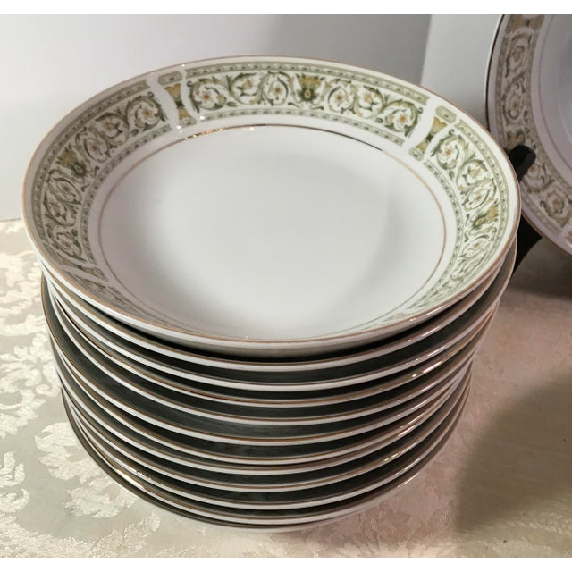 "Ceramic Mid-Century Daniele ""Felicity"" China - Set of 27 For Sale - Image 7 of 11"
