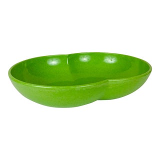 Mid 20th Century Lime Green Melmac Serving Dish For Sale