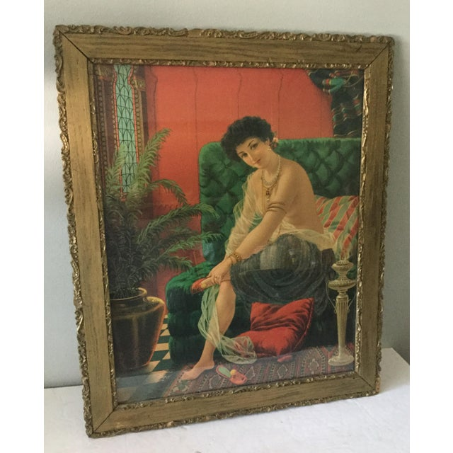 Antique Framed Salome Lithograph - Image 7 of 7