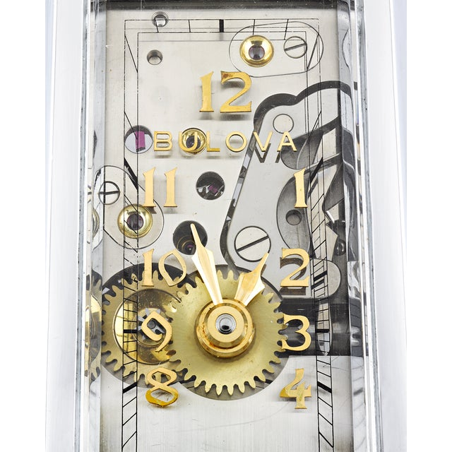 Bulova Watch Co. Presentation Model Timepiece For Sale In New Orleans - Image 6 of 7