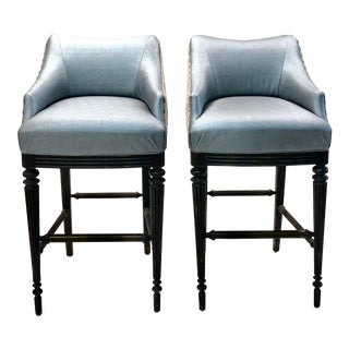 Modern Vanguard Elegant Barstool- A Pair For Sale