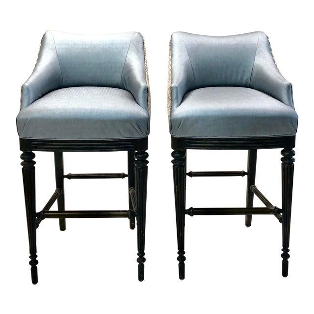 Remarkable Modern Vanguard Elegant Barstool A Pair Alphanode Cool Chair Designs And Ideas Alphanodeonline