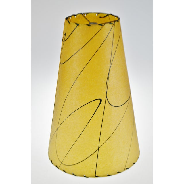 Mid Century Fiberglass Atomic Style Lamp Shade For Sale - Image 9 of 13