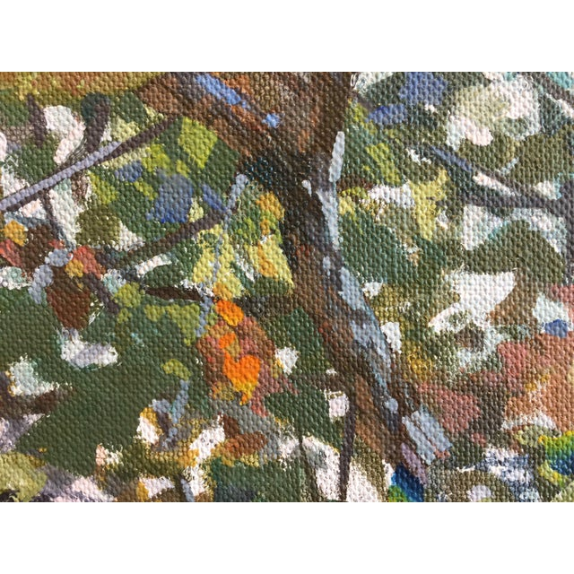 """Marsh Large Contemporary Landscape """"Sea Grapes Iii"""" For Sale In West Palm - Image 6 of 7"""