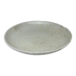Qing Dynasty Ge Kiln Crack Glaze Plate For Sale