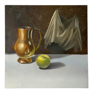 Vintage Still Life Painting by Dick Turner For Sale