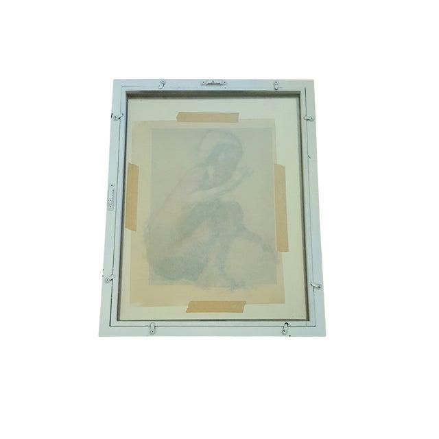 Vintage Original Impressionist Figure Painting - Image 5 of 5