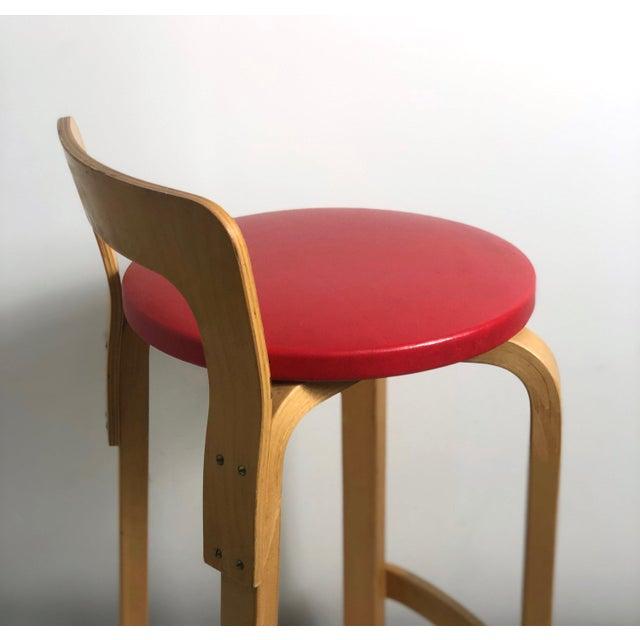 Alvar Aalto by Artek K65 Highback Chair Finland 1940's For Sale In Detroit - Image 6 of 11