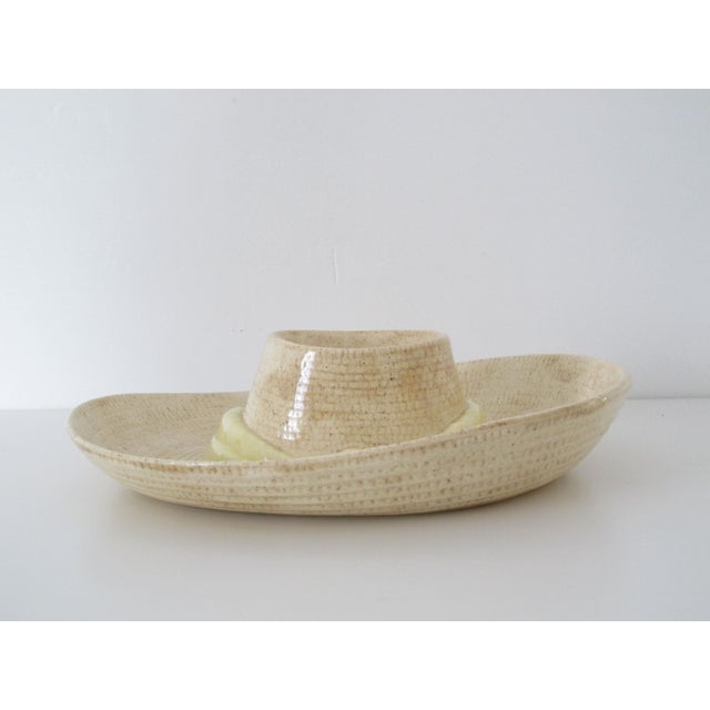Sombrero Chip n' Dip Party Platter For Sale In Los Angeles - Image 6 of 8