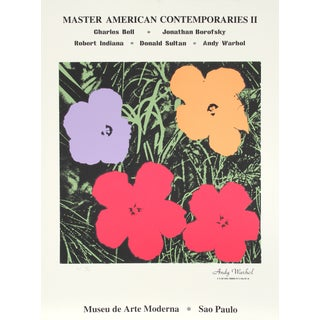 Master American Contemporaries II, Print by Warhol For Sale