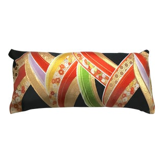 Silk Obi Bolster Pillow