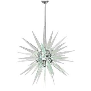 Italian Murano Glass Shards Sputnik Chandelier For Sale