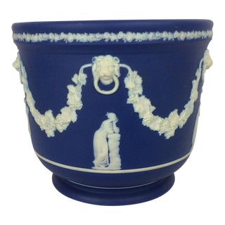 Blue & White English Wedgwood Bowl