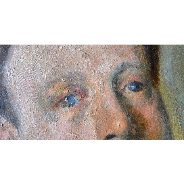 Portraiture Otto Hanrath Oil Painting Portrait For Sale - Image 3 of 7