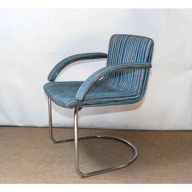 Italian Set of Four Italian Mid-Century Chairs by Saporiti Italia For Sale - Image 3 of 7