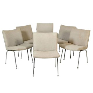 Hans J. Wegner for Carl Hansen Danish Airport Chairs - Set of 6