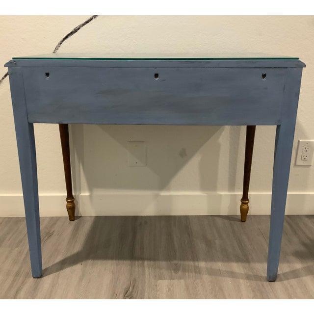 Antique Victorian Refurbished Writing Desk For Sale - Image 4 of 11