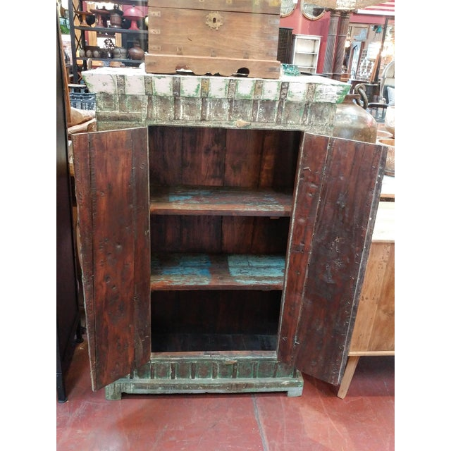 Colonial Metal Work Storage Cabinet - Image 4 of 6