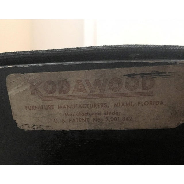 """1960s 1960s Vintage Kodawood """"Oyster"""" Rocking Chair For Sale - Image 5 of 6"""