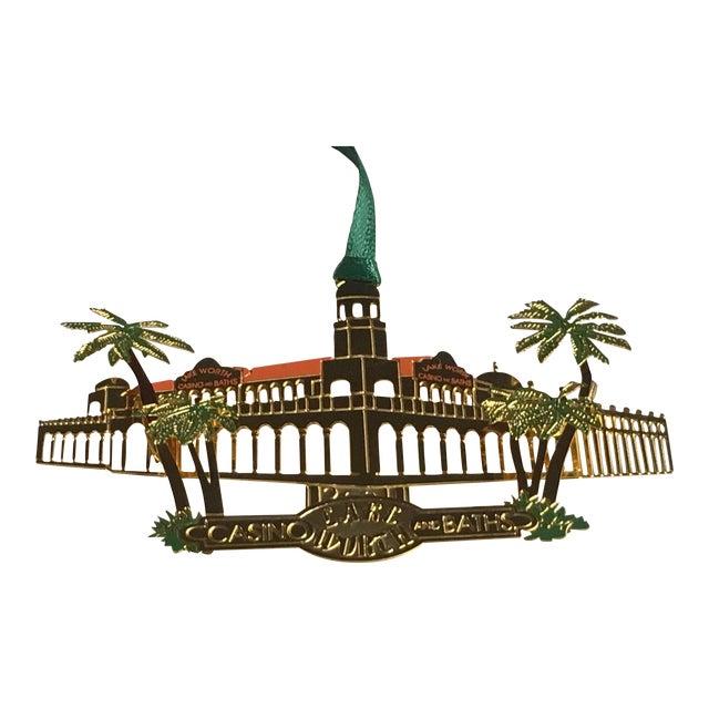 Lake Worth Casino Christmas Tree Ornament For Sale