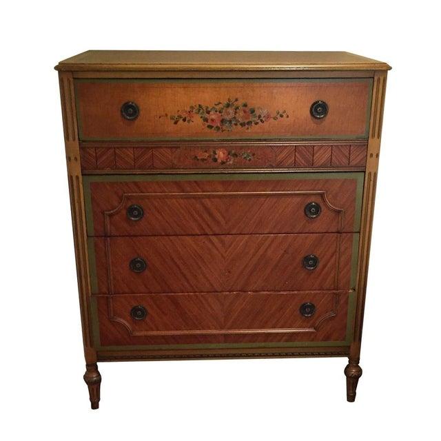 Antique Wooden Dresser - Image 1 of 4