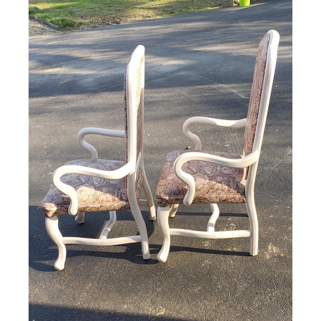 1960s 1960s Vintage High Back Patio Chairs- A Pair For Sale - Image 5 of 6
